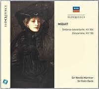 Mozart: Sinfonia Concertante/Concertone