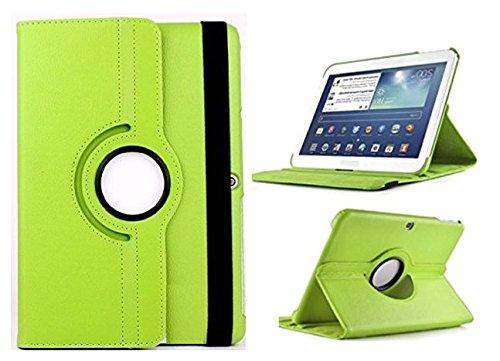 Theoutlettablet Funda Giratoria 360º para Tablet Bq Aquaris M10 10.1' Book Cover Case Protección Delantera y Trasera Color Verde