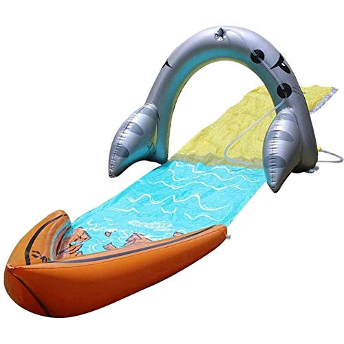 Learn More About LAOLI Lawn Water Slides,Single Surf Water Slide Children Summer Lawn Slides Outdoor...