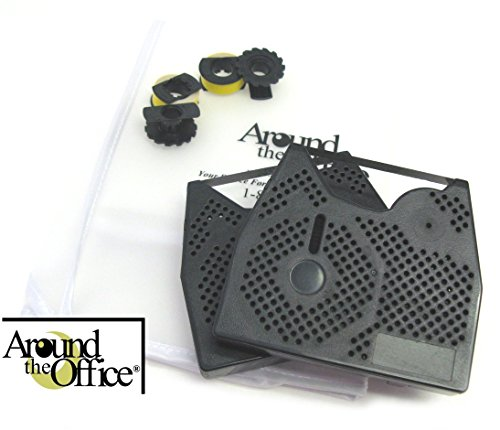 Around The Office Compatible Smith Corona Typewriter Ribbon & Correction Tape for PWP 80.This Package Includes 2 Typewriter Ribbons and 2 Lift Off Tapes