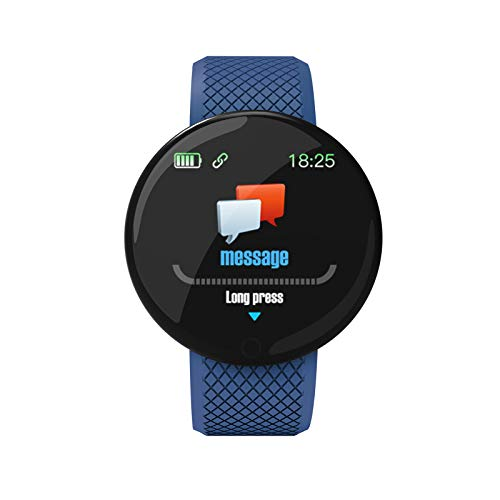 B28 - Reloj inteligente con monitor de oxígeno en sangre, reloj de seguimiento de actividad con medición de presión remota, impermeable para fotografía, podómetro para niños, mujeres y hombres