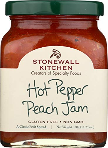 Stonewall Kitchen Hot Pepper Peach Jam, 11.25 Ounce