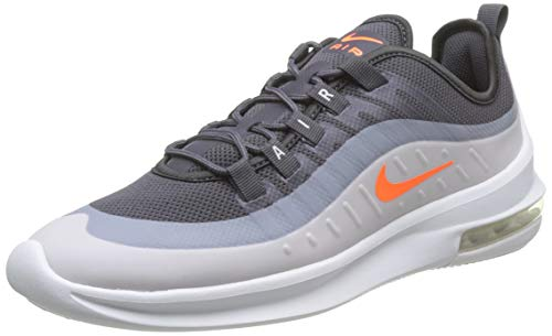 Nike Herren AIR MAX AXIS Laufschuhe, Grigio Thunder Grey Total Orange Platinum Tint 013, 41 EU
