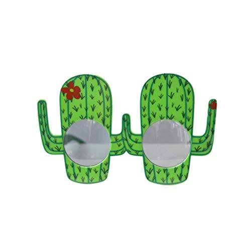 NUOBESTY Neuheit Party Brille Kaktus Party Kostüm Dekoratives Spielzeug Zubehör für Festival Dekor