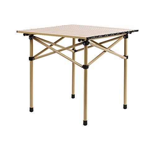 Tragbarer Selbstfahrender Camping-Tisch Outdoor-Werkzeug Tisch Klappbarer Picknicktisch Aluminiumlegierung Oberfläche...