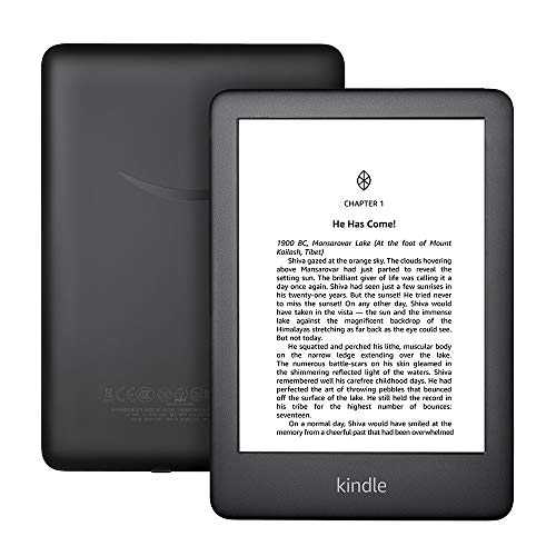 All-New Kindle (10th Gen), 6' Display now with Built-in Light, Wi-Fi (Black)