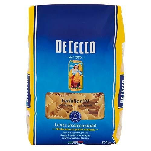 De Cecco - Farfalle, Pasta di Semola di Grano Duro - 500 g