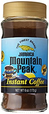 Jamaica Mountain Peak Instant Coffee 6 OZ