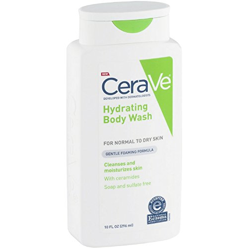 CeraVe Hydrating Body Wash 10 oz (Pack of 4)