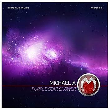Purple Star Shower