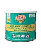 Earth's Best Organic Gentle Infant Powder Formula with Iron, Easy To...