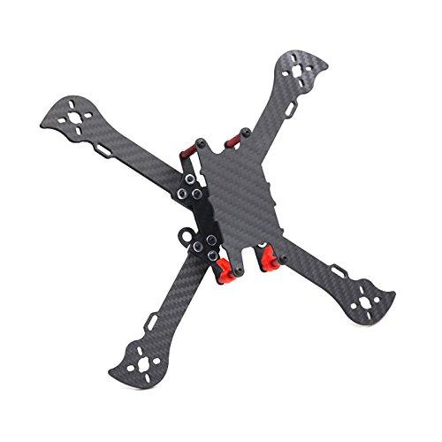 Wchaoen Liberalist 224mm Interasse 4mm Braccio in Fibra di Carbonio RC Drone FPV Racing Frame Kit 90g Accessori per Utensili