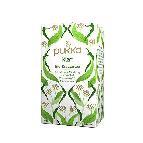 Pukka Bio-Tee Klar 80 Teebeutel, 4er Pack (4 x 20 beutel)