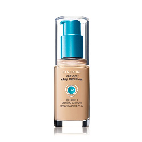 COVERGIRL Outlast All-Day Stay Fabulous 3-in-1 Foundation, 1...