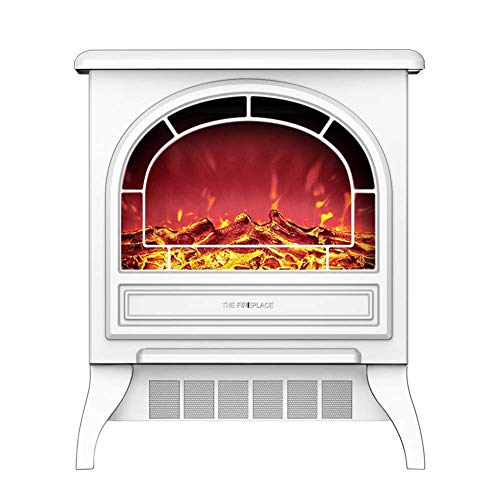 FTFTO Living Equipment Electric stove fireplace heater portable free-stan electric fireplace insert stove heater with realistic wood flame effect black