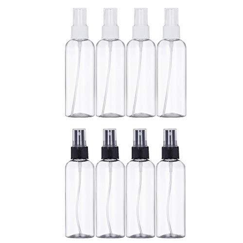 LANGING 8 Stks Atomizer Clear Lege Spray Fles Plastic Fijn Mist Fles Navulbare Parfum Atomizer,