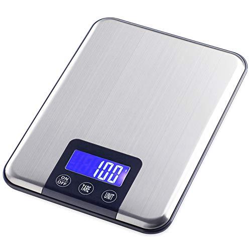 Balance de Cuisine Electronique Professionnelle, Balance numérique de cuisine de Haute Précision Ultra Mince,5kg/1g