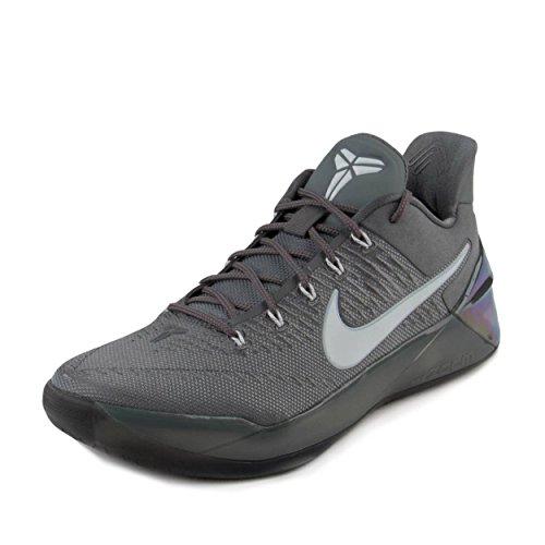 Nike Mens Kobe A.D Cool Grey/White-Black Nylon Size 10.5
