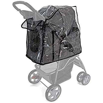 Easipet Rain Cover Pet Stroller 9