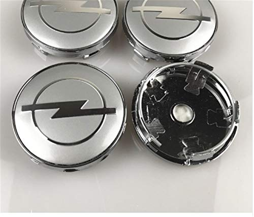 chuchu88 4PCS Set Black Center Wheel CAPS Chrome Emblem FIT for Mazda 56MM HUB Cap Logo
