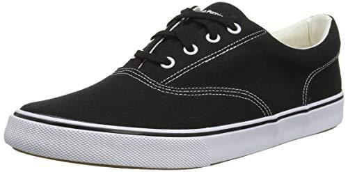Hush Puppies Chandler Sneaker, Zapatillas Hombre, Negro (Black Black), 44.5 EU