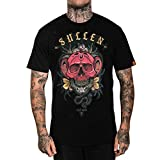Sullen Men's Venomous Short Sleeve T Shirt Black L