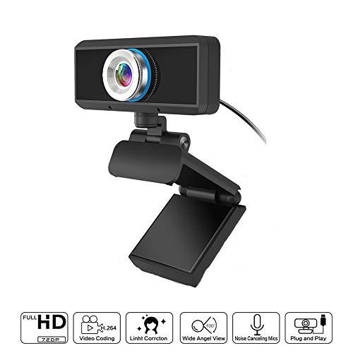 Webcamera Met Ingebouwde Microfoon USB-Stekker En Geschikt Voor Online Cursussen, Tv-Video's, Lokale Video's Conferentie Videocamera Desktop Laptop Webcams