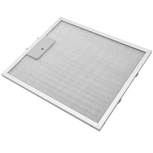 vhbw Filter Metallfettfilter, Dauerfilter 30,55 x 26,75 x 0,85cm Ersatz für Elica 93952919, GRI0009219A, KIT0010805 für Dunstabzugshaube