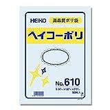 HEIKO ポリ規格袋 ヘイコーポリ No.610 紐なし 006620000