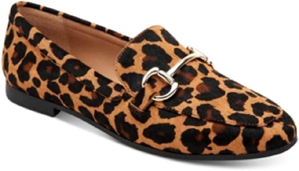 INC International Concepts INC Women's Gayyle Slip-On Loafer Dark Leo 7M