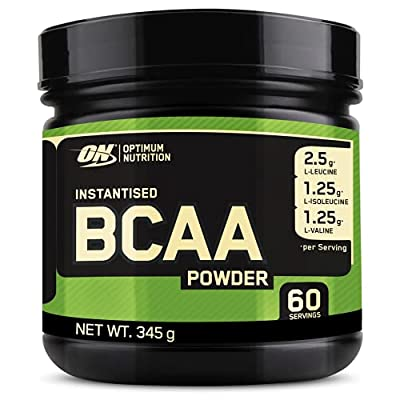 Optimum Nutrition Instantized BCAA Powder, Unflavored, Keto Friendly Branched Chain Essential Amino Acids Powder, 5000mg, 60 Servings (Packaging May Vary)