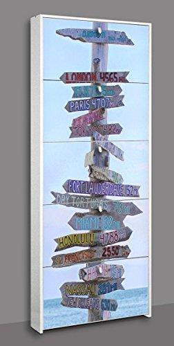 MDL DAY zapatero 5puertas serigrafate Signpost