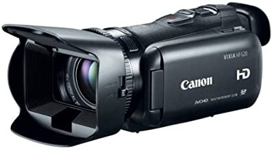 Canon VIXIA HF G20 Camcorder with 10x HD Video Lens (30.4mm-304mm), 3.5