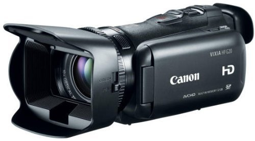 Canon VIXIA HF G20 Camcorder with 10x HD Video Lens (30.4mm-304mm), 3.5' Touchscreen LCD, HD CMOS...