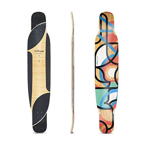 Loaded Boards Bhangra V2 Bamboo Longboard Skateboard Deck Flex 1 130 300 lbs 60 136 kg