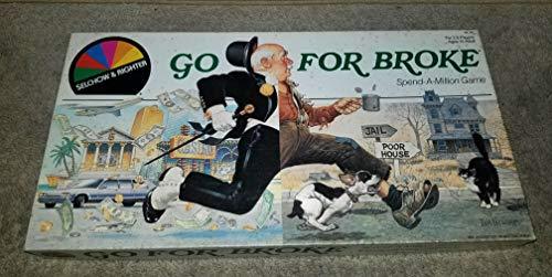 Go for Broke- Spend a Million Game (1985 Vintage)