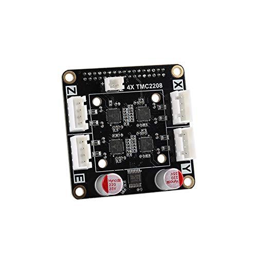 Stampante Accessori 4X TMC2208 V1.0 256 Microstep Scheda Driver Modulo Adattatore Per AIO II V3.2 All in One II 32 Bit MCU 32 bit 3D stampante Mainboard Plug & Play