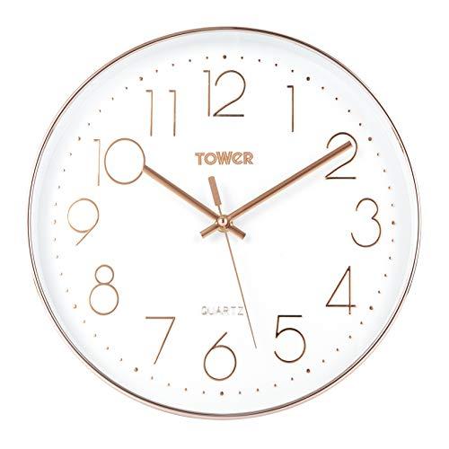 Toren T878500RW Rose Goud Wandklok, 30 cm
