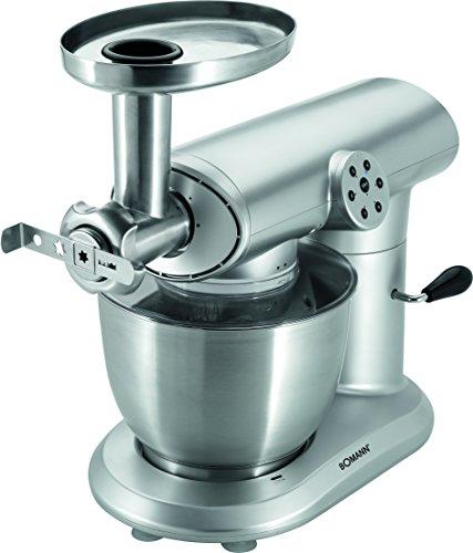 Bomann KM 369 CB Robot de cocina multifunción, batidora amasadora, picadora de...
