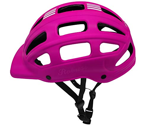 jaspo Secure Sports Helmet for Cycling, Skateboarding, Inline, Ice-Skating and Roller Skating (Pink)