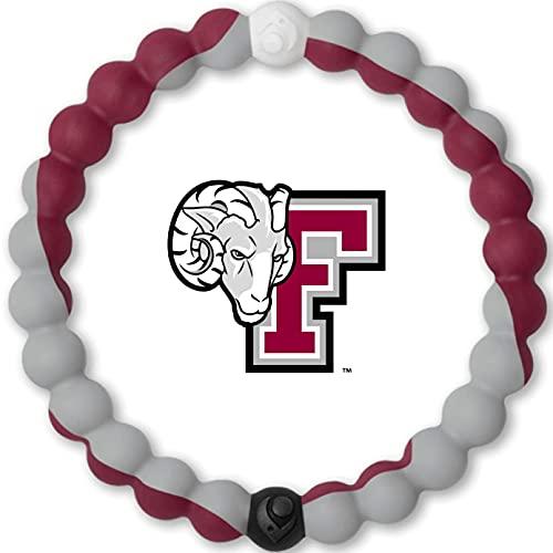 Lokai Fordham University Rams, SIlicone Bead Bracelet for Men and...