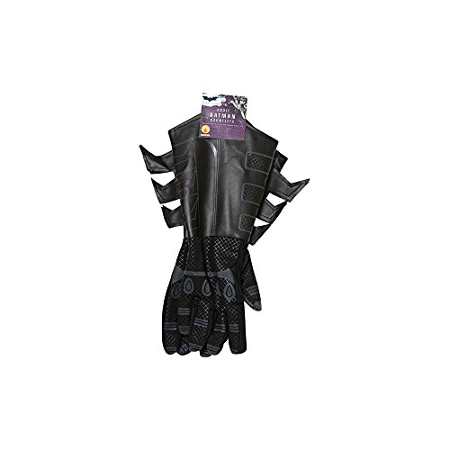 Accessoires de déguisement - Gants Batman The Dark Knight - Tissu et imitation cuir - Pour adulte