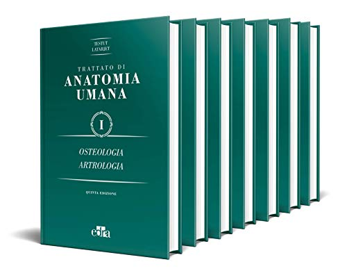 Trattato di anatomia umana [Sette volumi indivisibili]