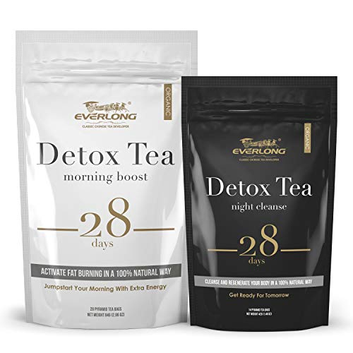 Detox Tea 28 Day Ultimate Teatox - Burn Fat and Boost Your Energy, Colon Cleanse, Activate Immune System and Accelerate Healthful Weight Loss - with Bonus Digital Welcome Guide