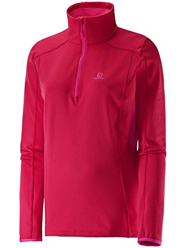 SALOMON Damen Discovery Active HZ Top, Damen, Lotus Pink, Small