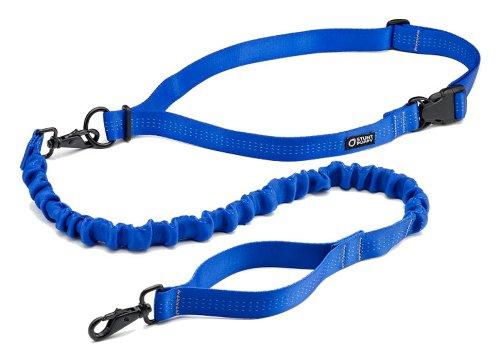 Stunt Puppy Stunt Runner Hands-Free Dog Leash, Blue