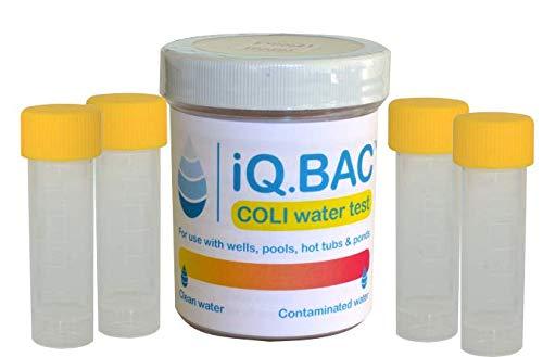 iQ.BAC COLI  Water Test Kit 4 Pack