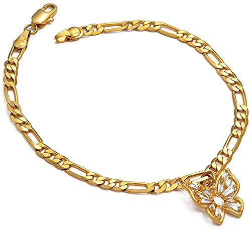 niuziyanfa Co.,ltd Halskette Zirkon Schmetterling Halsreif Anhänger Halsketten Frauen Mädchen Afrikanisch Arabisch Naher Osten Hochzeitsgeschenke Halskette Schmuck