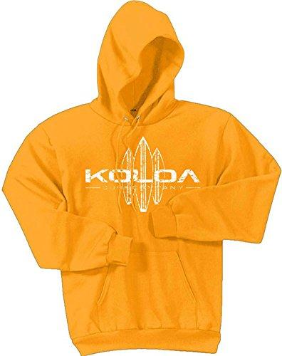 Koloa Surf -Vintage Surfboard Hoodies-Hooded Sweatshirt-Gold-5XL