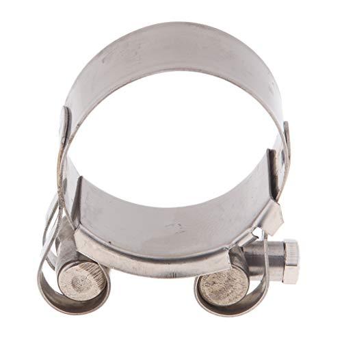 perfeclan 1 Stück Auspuffschelle Abgasrohrleitungen Schalldämpfer 40-43 mm; 44-47 mm; 48-51 mm; 52-55mm - 44-47mm